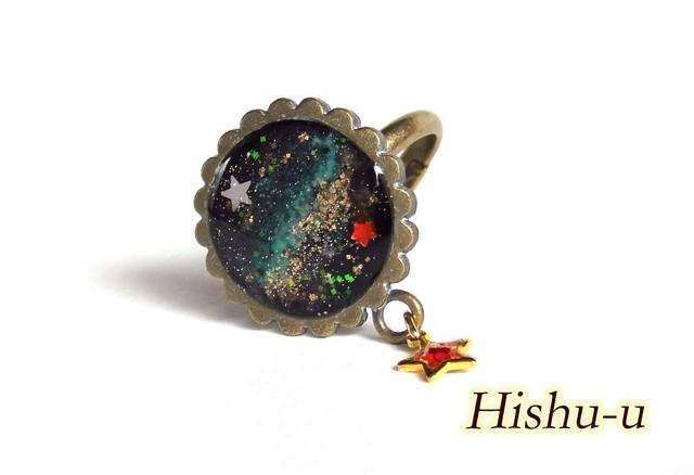 宇宙の海 きらり赤星 9 指輪フリー