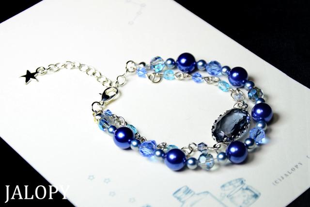 夜色宝石のブレスレット
