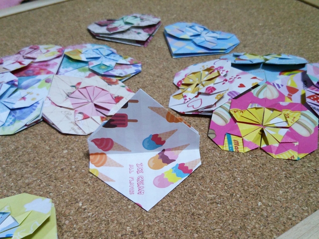 クリスマス 折り紙 折り紙 メッセージカード : minne.com