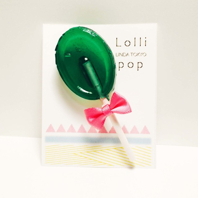 Lollipop/mintgreen