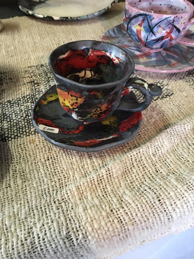 火の炎コーヒーセット
