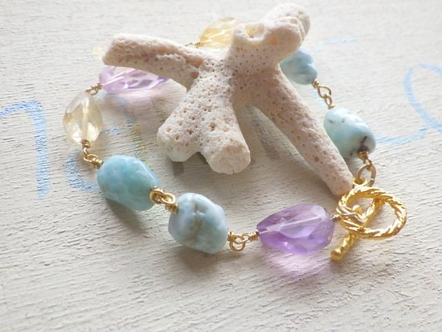 Mermaid's Seaside healing Bracelet  ll
