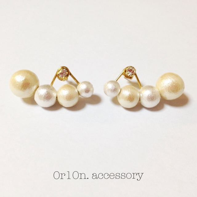 pierce&pearl charm