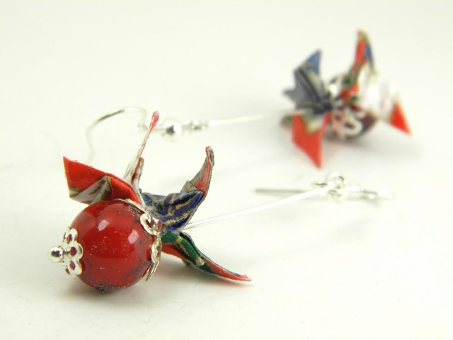 オリガミピアス・蝶(Papillon Y18BOP1DAr)