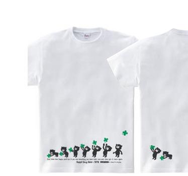 【再販】クローバー&イージー☆ベア WM〜WL?S〜XL Tシャツ【受注生産品】