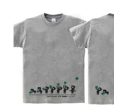 【再販】クローバー&イージー☆ベア  WS〜WM?S〜XL Tシャツ【受注生産品】