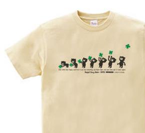 クローバー&イージー☆ベア WS〜WM?S〜XL Tシャツ【受注生産品】
