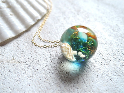 Seascapes Necklace   iii  (訳あり)