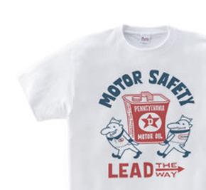 ビーンズマンとモーターオイル 片面 WS〜WM?S〜XL Tシャツ【受注生産品】