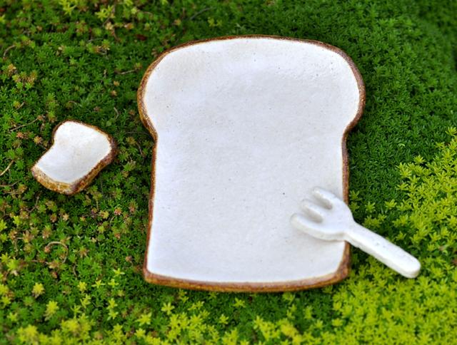 食パンの皿 ショートケーキサイズ