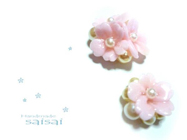 桜 イヤリング