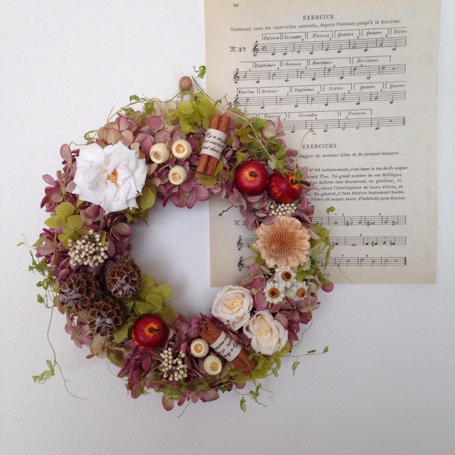 "wreath""apple pie"""