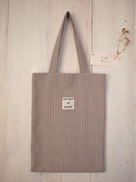 ストライプmini bag