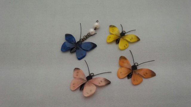 小さな蝶の携帯ストラップorイヤホンジャック
