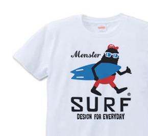 サーフ・モンスター Tシャツ S〜XLサイズ【受注生産品】