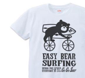 サーフィン・イージーベア XS(女性XS〜S)   Tシャツ【受注生産品】