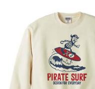 海賊〜SURF〜 トレーナー【受注生産品】