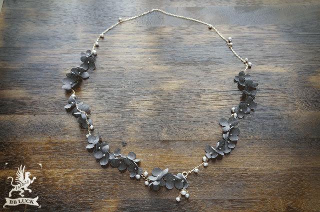 SAMI���� order made �� necklace �ڡ��������ʻ��۲֤�ø��ѡ���Υ�ͥå��쥹 ��grey ��