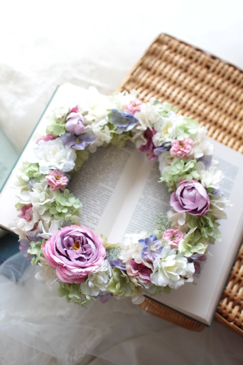 welcome wreath #106