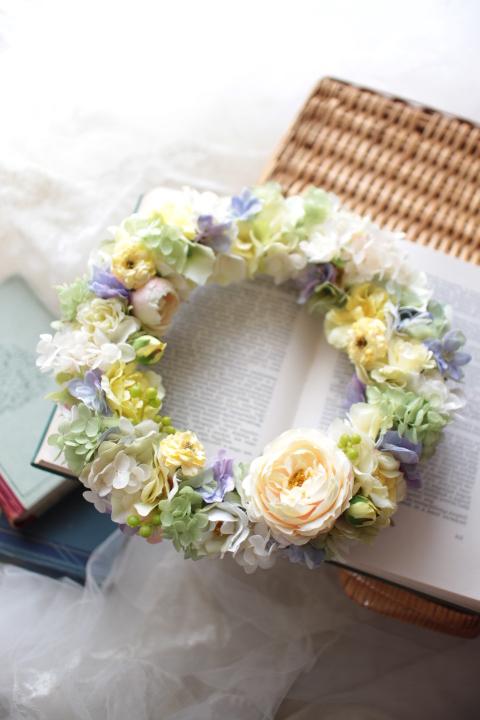 ruweyさまオーダーページ   welcome wreath #107