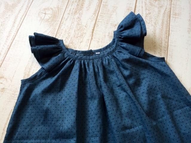 フリル袖ブラウス110サイズ