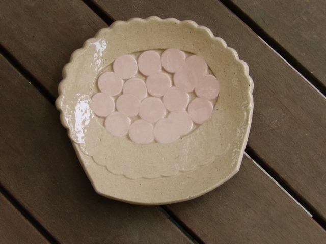 チェリータルトの平面皿