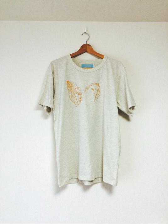 XLサイズ・海のミルクTシャツ(オートミール)