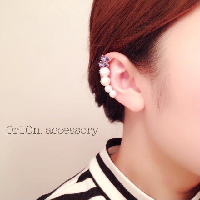 bijou earcuff.(���ʥ���)