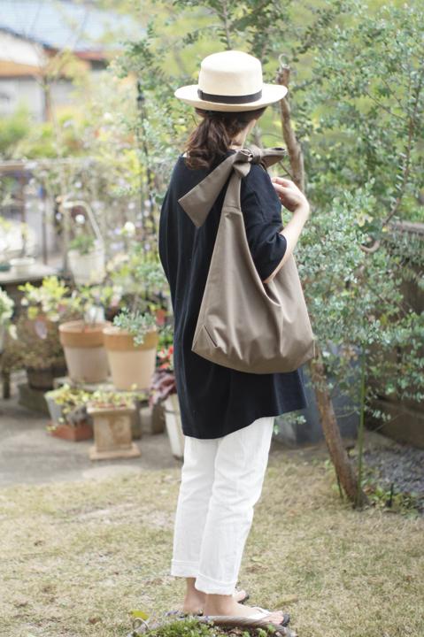 リボンのバッグ(シャンパンモカ)