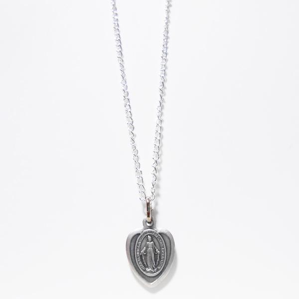 聖母マリア様のハートネックレス