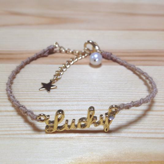 ��ucky bracelet