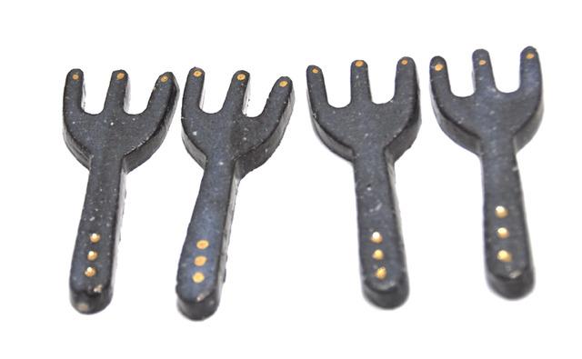 キラ星フォークの箸置き【4点セット】