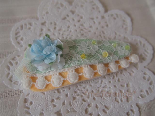flower cake pin*お花ケーキのぱっちん LBL-l