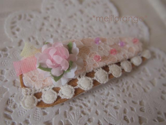 flower cake pin*お花ケーキのぱっちん LPK-l