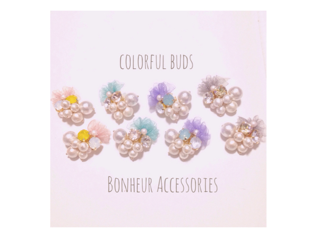 colorful buds  ピアス/イヤリング