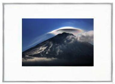 「富士山12001」 レインボーハット 額...