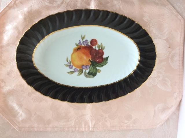 果物の絵皿