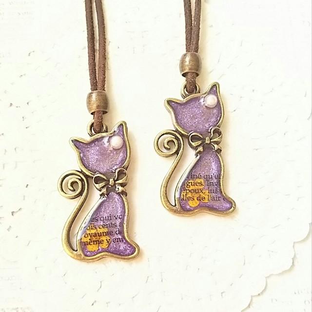 猫のネックレス