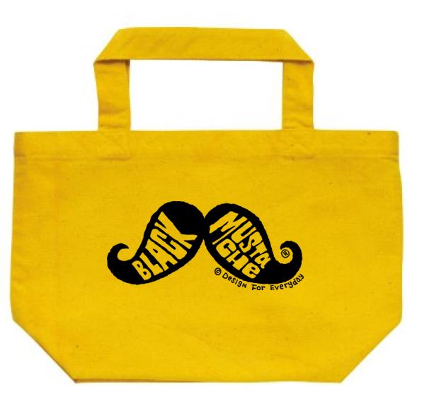 口髭トートバック Sサイズ【受注生産品】