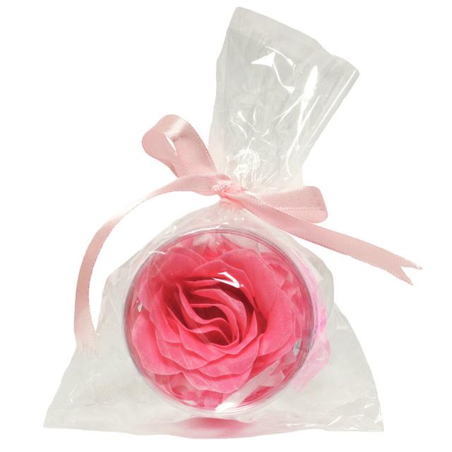 フラワーソープ 薔薇の香り ピンク 仏花 手向け花 供花