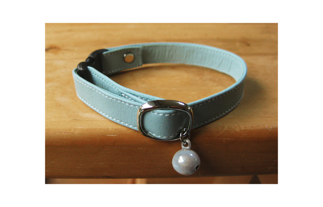 【再販】cat collar * mint B