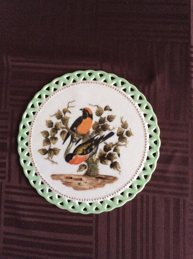 鳥のプラーク(飾り絵)
