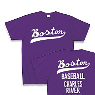 ボストン フォント【両面】 150.160.(女性M.L) S〜XL Tシャツ【受注生産品】