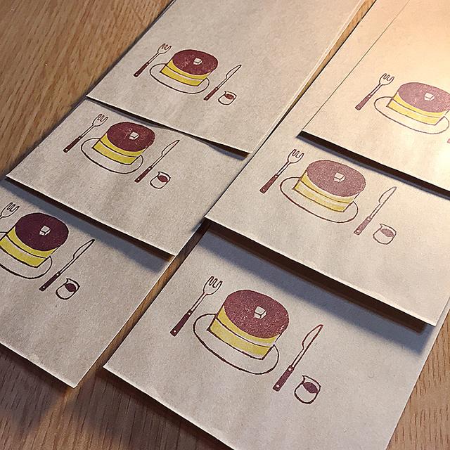 ホットケーキ 長封筒 15枚セット