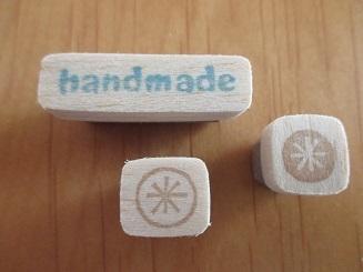handmadeはんこ*3つセット