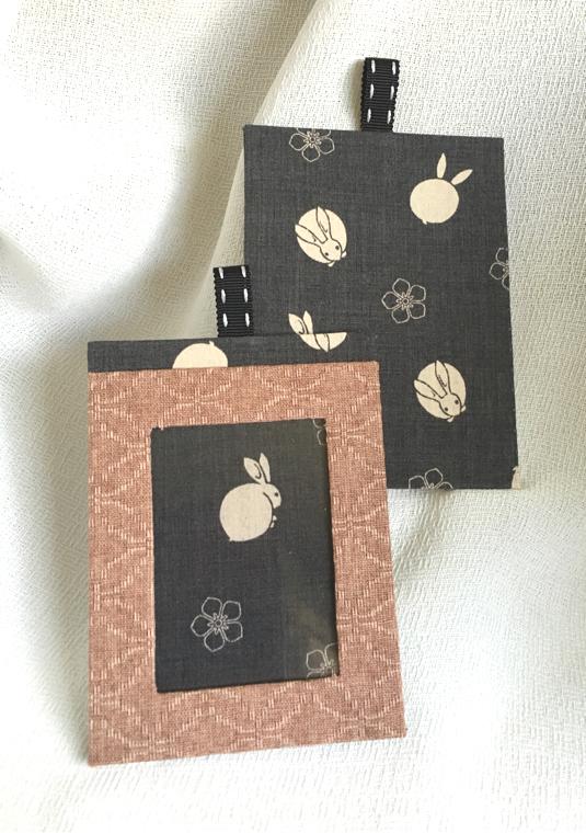 ICカードケース【灰うさぎ】
