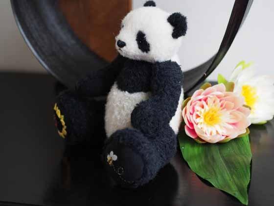 25cm ひまわりパンダ