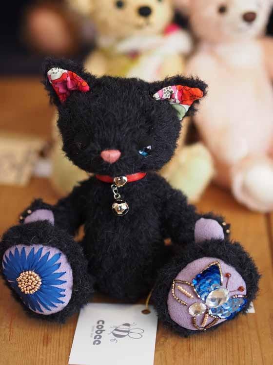 【受注生産】18cm黒猫