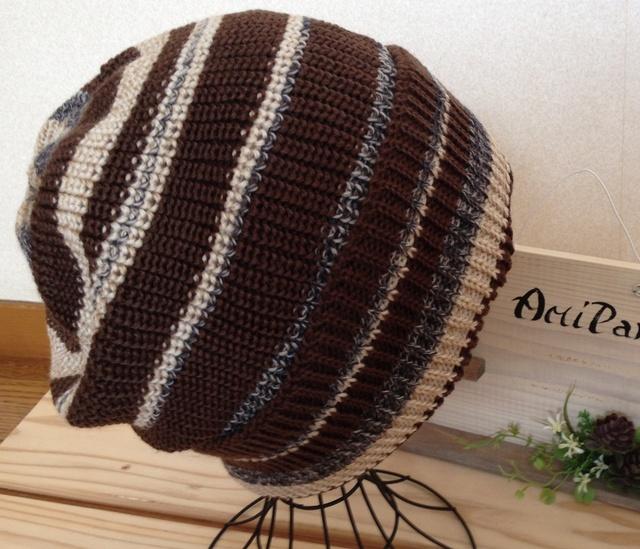 とてもかぶりやすい帽子です 茶系?