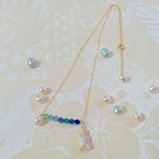 Seven Prismatic Colors Necklace